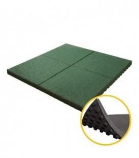 Pavele Cauciuc Alveolare 3 cm Verde