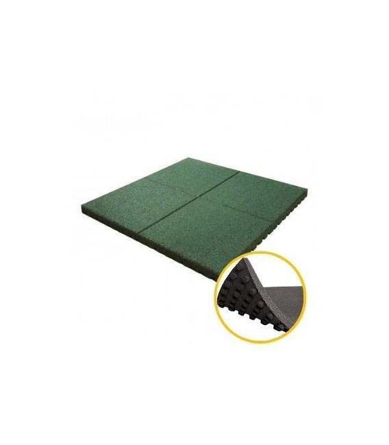 Pavele cauciuc alveolare 2.8 cm verde