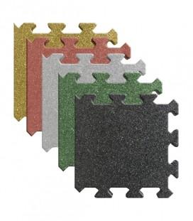 Pavele Cauciuc Capat Puzzle 50x50x2 cm Diferite Culori