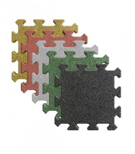 Pavele Cauciuc Puzzle 50x50x2 cm Diferite Culori
