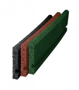 Bordura Pavele Cauciuc 50x50xx4 cm Diferite Culori